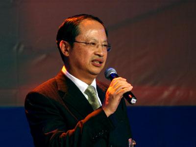 图文:中国移动通信集团公司总裁王建宙