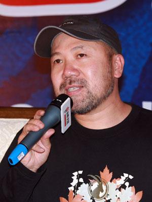 中国国家登山队队长王勇峰