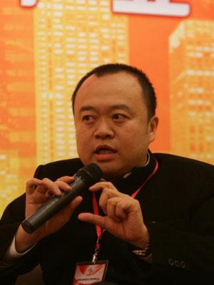 图文:水立方中方总设计师赵小钧