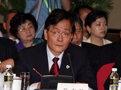图文:台湾集中保管结算所董事长范志强