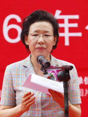 国资委副主任黄丹华为国有经济60年影像展致辞