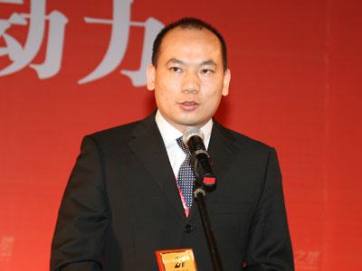 图文:星恒电源有限公司总经理肖斌发表感言