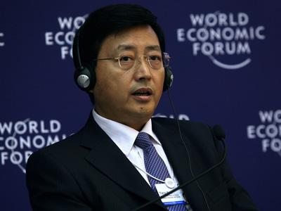 图文:中国农业银行副行长杨琨