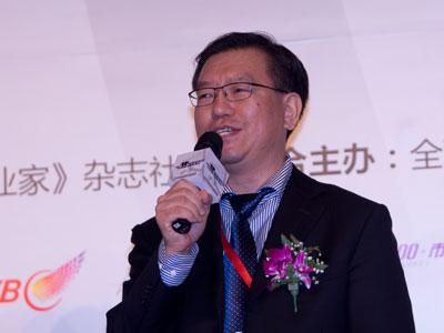图文:深圳高交会交易中心主任李真