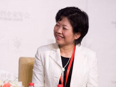 图文:数字100市场研究公司董事长汤雪梅