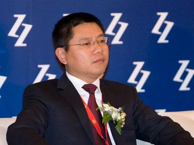 次会议.上图为均瑶集团有限公司董事长王均金.(图片来源:新浪