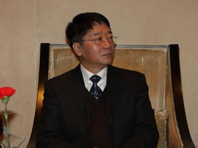 图文:中宣部文化体制改发办副主任高书生