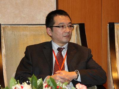图文:上海多媒体产业园副总经理师大