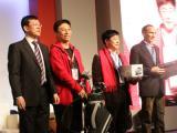 滑雪比赛男子组冠亚季军