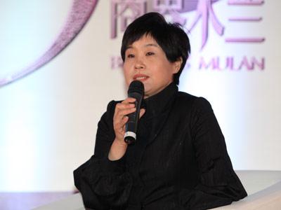 图文:蓝海传媒集团首席执行官诸葛虹云