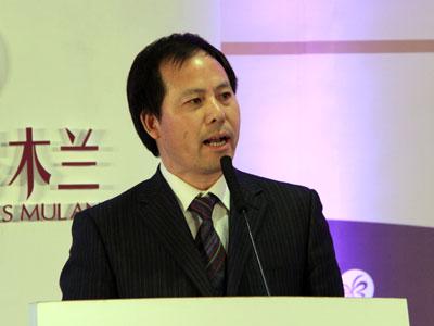 图文:中国企业家杂志总编辑黄丽陆