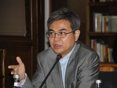 图文:哥伦比亚全球研究中心东亚区负责人肖耿