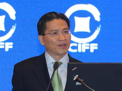 图文:上海市世博执行委员会副主任周汉民