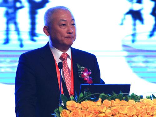上海张江(集团)有限公司常务副总经理刘小龙(来源:新浪财经 陈鑫 摄)