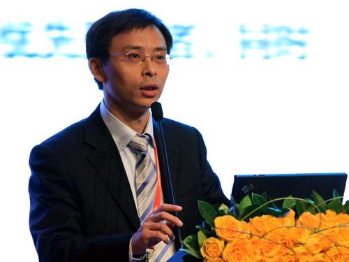交通银行公司业务部总经理助理郑智勇(来源:新浪财经 陈鑫 摄)