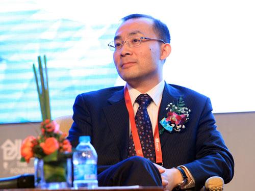 环球教育科技集团总裁张永琪(来源:新浪财经 陈鑫 摄)