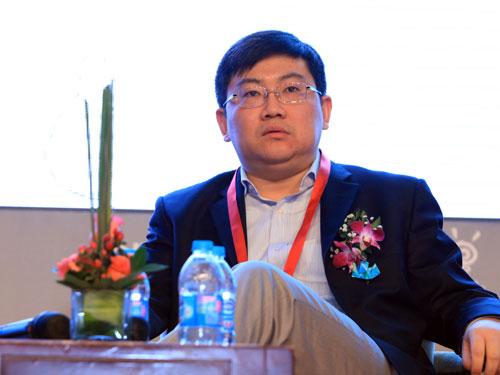NEA全球合伙人兼中国区董事总经理蒋晓冬(来源:新浪财经 陈鑫 摄)