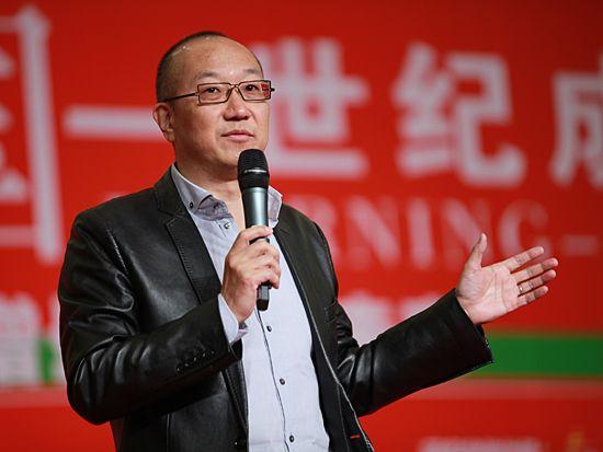 第十一届学习型中国-世纪成功论坛于2010年12月30日/31日-2011年1月1日在北京九华山庄隆重举办。上图为万通集团董事局主席冯仑。(图片来源:新浪财经 梁斌 摄)