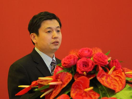 青岛澳柯玛股份有限公司副总经理王济伦(图片来源:新浪财经 梁斌 摄)