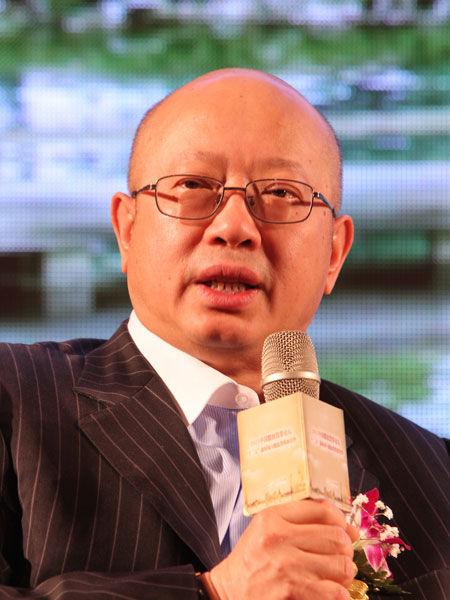 """由上海证券报社主办的""""2011中国股权投资论坛""""于2011年5月13日在上海举行。图为深创投集团董事长靳海涛。(资料图片)"""
