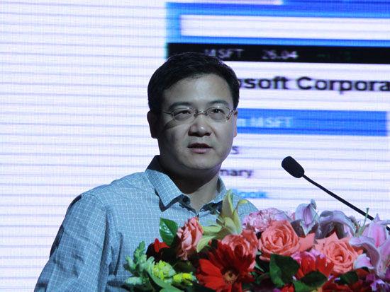 互联天下CEO、中国万网创始人张向宁(来源:新浪财经 任立殿摄)