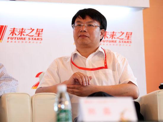 青岛海信网络科技股份有限公司总经理陈维强(新浪财经 陈鑫 摄)