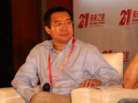 北大纵横管理咨询集团创始人、总裁王璞(新浪财经 陈鑫 摄)