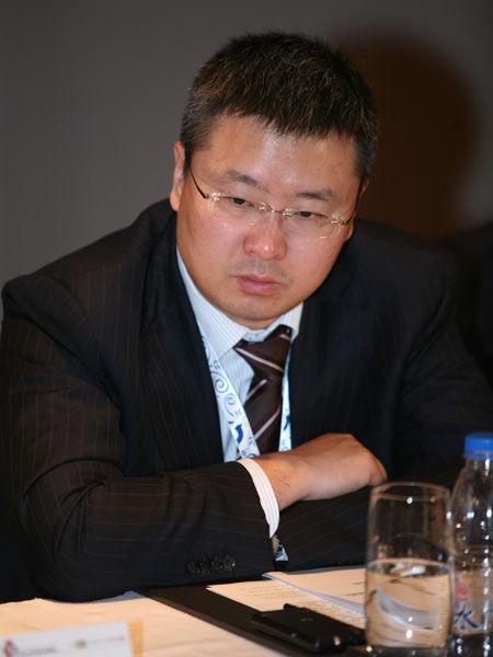 万宝盛华集团(中国)董事总经理袁建华(新浪财经 陈鑫 摄)
