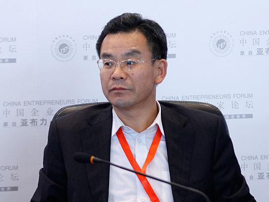 华夏基金管理公司总经理范勇宏(来源:新浪财经 陈鑫 摄)