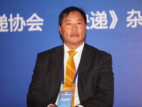 图文:申通快递有限公司董事长陈德军