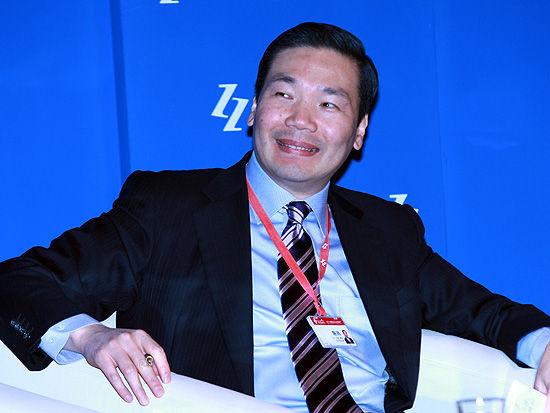 Hay(合益)集团东北亚区总裁陈玮(图片来源:新浪财经 陈鑫 摄)