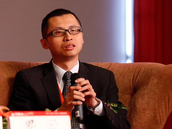 讯程科技(深圳)有限公司总经理简志�N(新浪财经 陈鑫 摄)