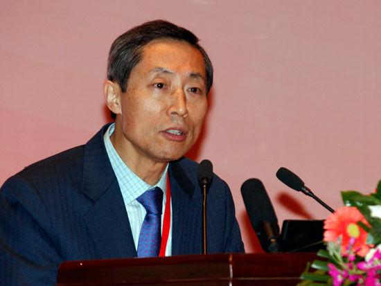 韩国全球文化产业协会会长李永求(新浪财经 陈鑫 摄)
