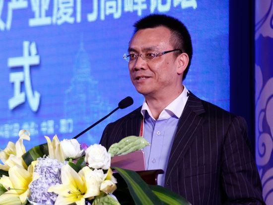 迈氏会展中国区董事总经理高峰(新浪财经 陈鑫 摄)