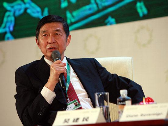 图文:国家创新与发展战略研究会副会长吴建民