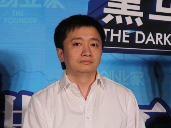 由《创业家》杂志社主办的2012黑马大赛发布会于2012年6月20日在北京举行。图为布丁创始人徐磊发言。(来源:新浪财经 任立殿摄)
