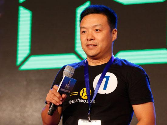 广州索答信息科技有限公司首席执行官石忠民(新浪财经 陈鑫 摄)