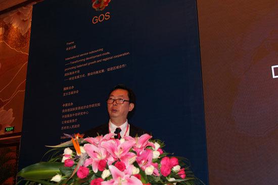 云南省商务厅副厅长朱非(图片来源:新浪财经)