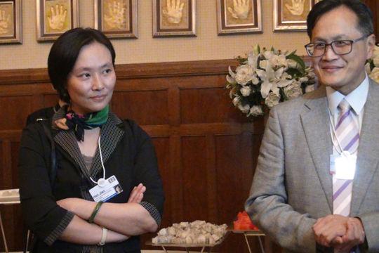 中欧国际工商学院韩践教授和杨国安教授