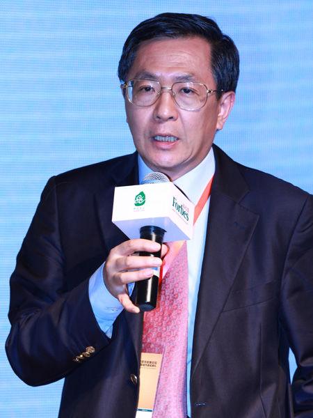 """""""福布斯中国县级城市投资与发展论坛""""于2012年9月26日在江苏昆山举行。上图为斐然资本创始合伙人麦世泽。(图片来源:新浪财经)"""