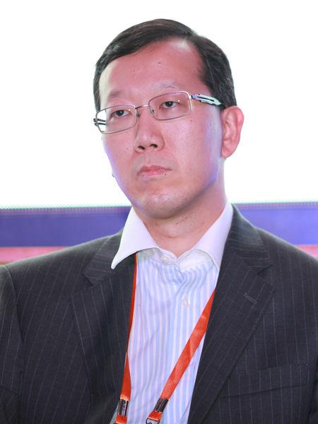 """""""三亚・财经国际论坛""""于2012年12月15日-17日在海南省三亚市召开举行。上图为瑞银证券董事总经理、亚洲投资银行部主管金弘毅。(图片来源:新浪财经 梁斌 摄)"""