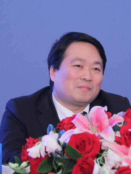 2013年3月2日,三一集团美国风电项目诉讼案第一次庭审情况媒体说明会在北京举行。图为中国社会科学院美国研究所研究员张国庆。