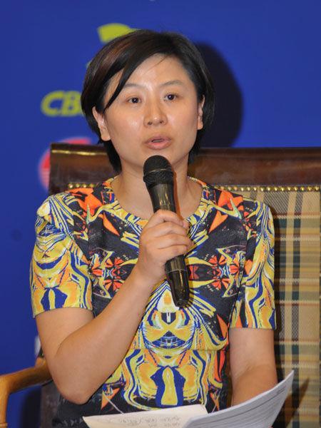 """""""2013中国金融论坛""""于2013年5月21日-23日在北京召开。上图为海通国际首席经济学家及研究部主管胡一帆。(图片来源:新浪财经)"""