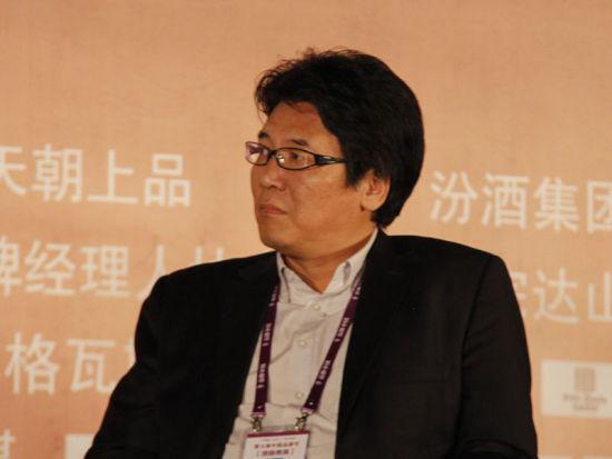 图为亚太第一卫视传媒集团首席执行官高强发言