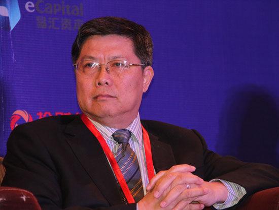 """""""2015中国金融论坛""""作为科博会的重要活动于5月12日-13日在北京召开。上图为国务院参事汤敏。(图片来源:新浪财经 梁斌 摄)"""