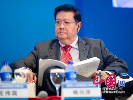马来西亚亚洲策略与领导研究所首席执行官杨元庆(图片来源:中国网)