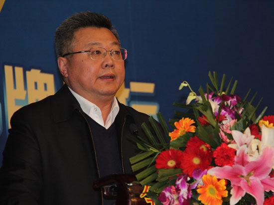 """""""第三届中国品牌评价暨中国五星品牌论坛""""于2016年1月19日在北京召开。上图为中国人民大学信息分析研究中心主任卢小宾。(图片来源:新浪财经)"""