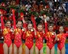 体操女团中国夺奥运首冠