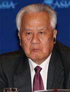 博鳌亚洲论坛首席顾问陈锦华