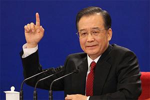 温家宝:中国发展对外贸易并不追求贸易顺差